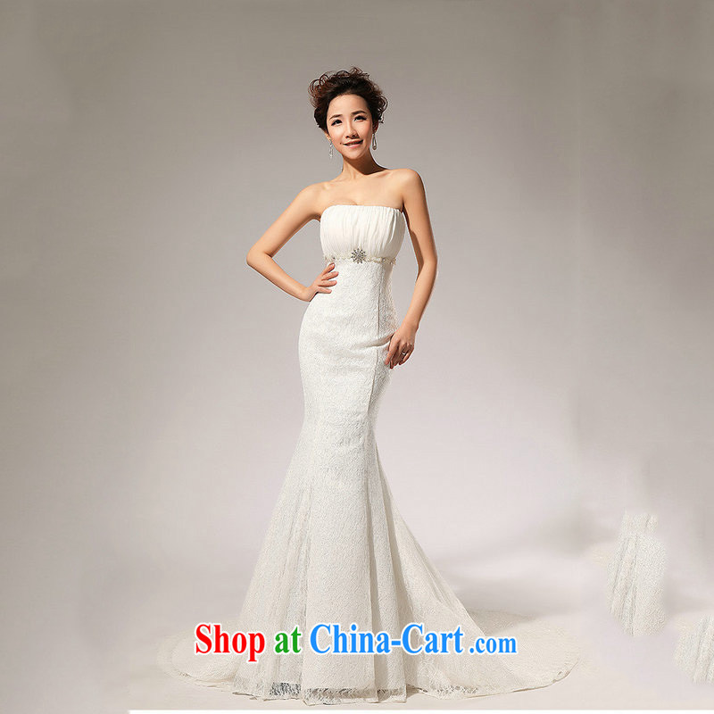 It is also optimized condolence lace alignment to the waist skirt A erase chest wedding dresses skirts XS 5211 white XXL
