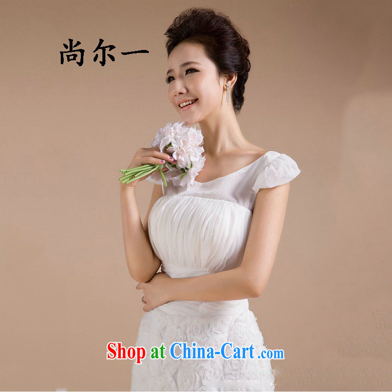 Taiwan's new, small dress floral skirt with bridesmaid clothing dresses skirts XS 2278 white XXXL