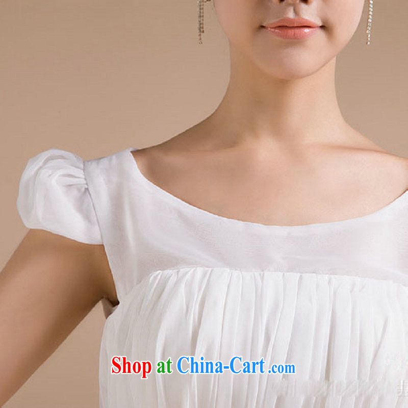 Taiwan's new, small dress floral skirt with bridesmaid clothing dresses skirts XS 2278 white XXXL, Taiwan's population, shopping on the Internet