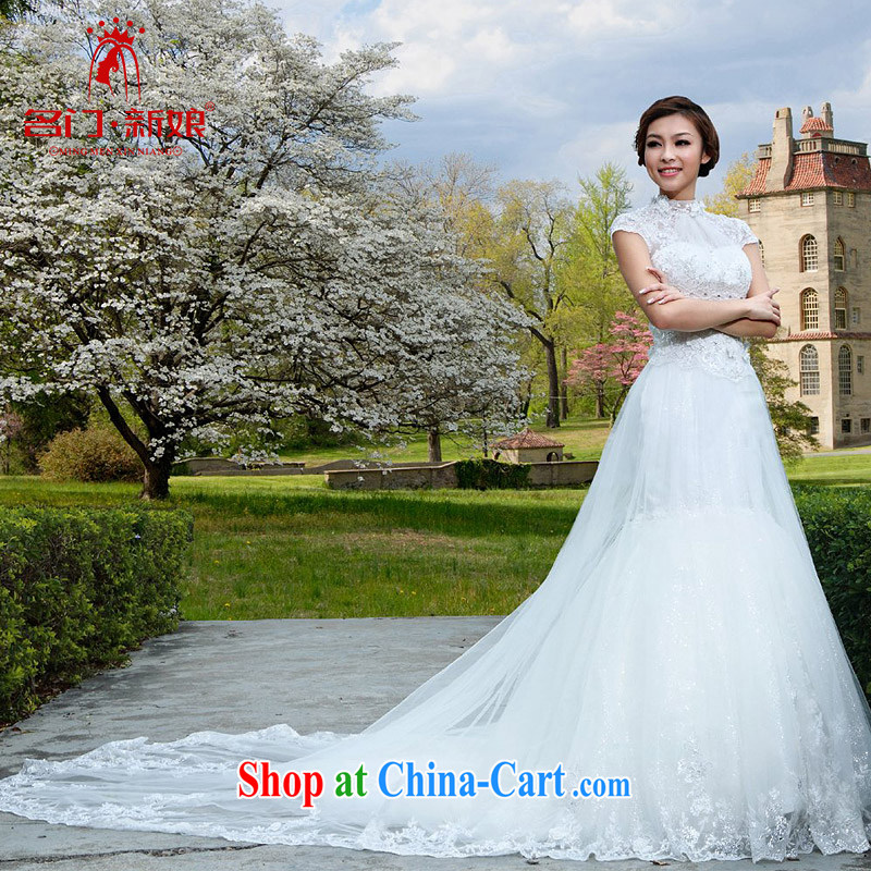 The bride and the wedding at Merlion lace new Korean winter wedding A L 963