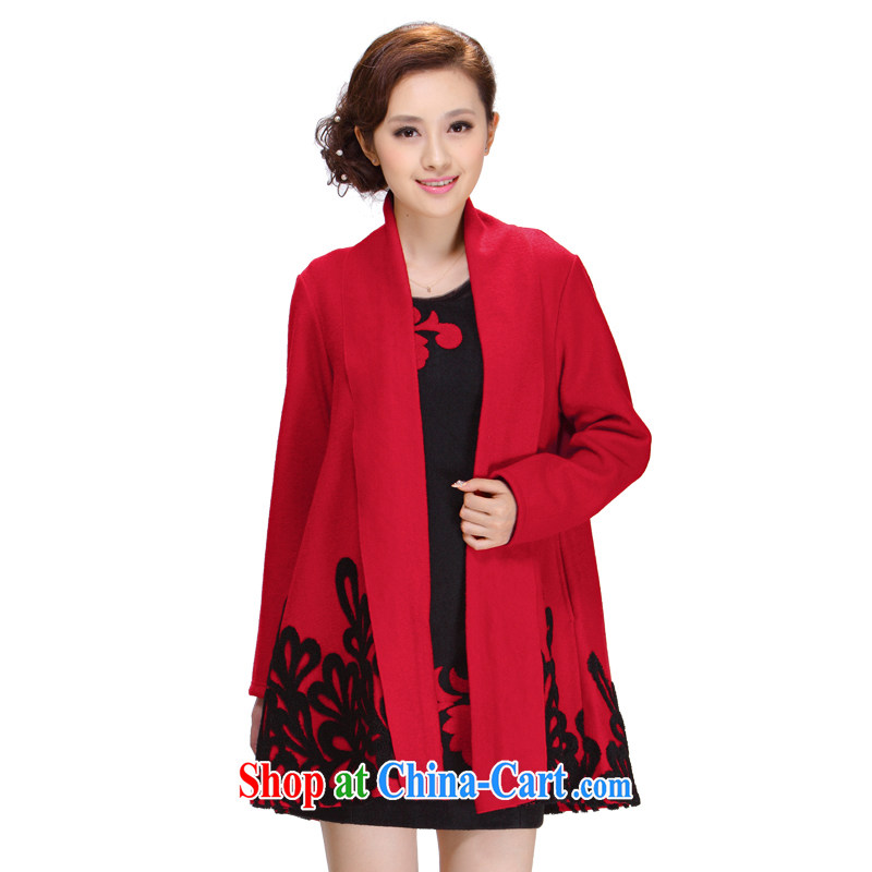 once and for all silence the liberal, older mothers with hair? No Charge-back Cape coat jacket hair? J Jacket - SY 35 red 4 XL