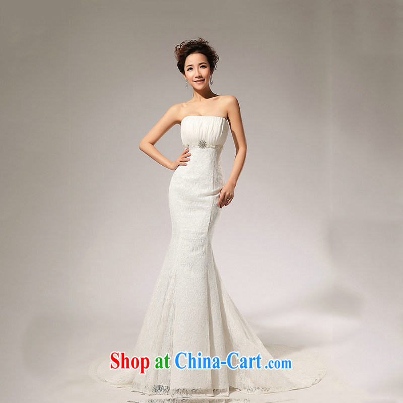 Optimize video 2015 new lace with the waist skirt A erase chest wedding dresses skirts HS 70 Mary Magdalene XS chest 7019 M white XXL