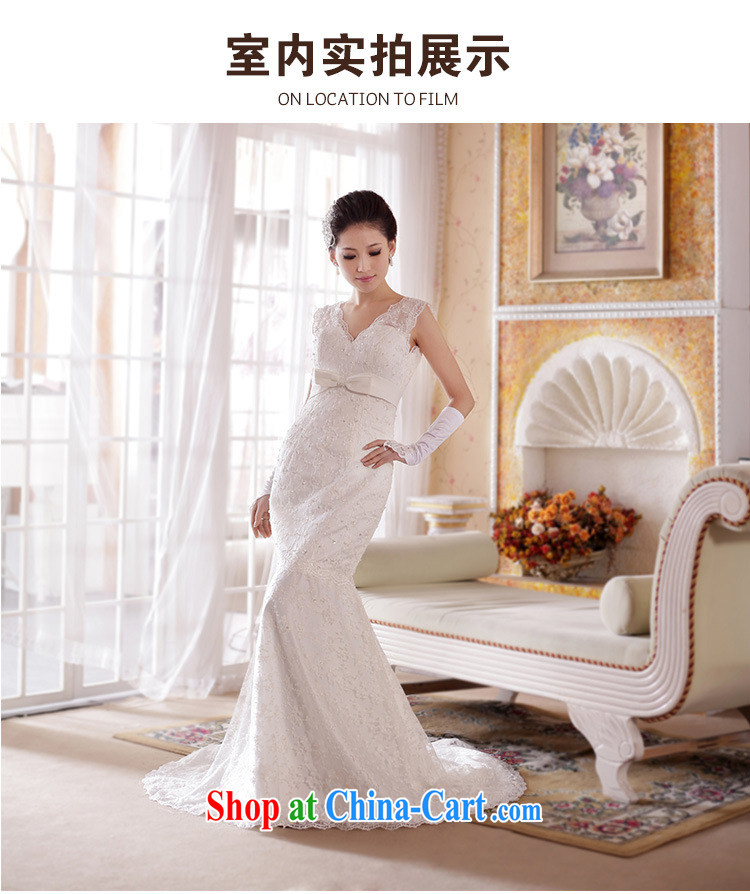 Optimize Hung-Royal retro-sense V Deluxe lace beauty crowsfoot tail bridal wedding XS 7017 M white XXL pictures, price, brand platters! Elections are good character, the national distribution, so why buy now enjoy more preferential! Health