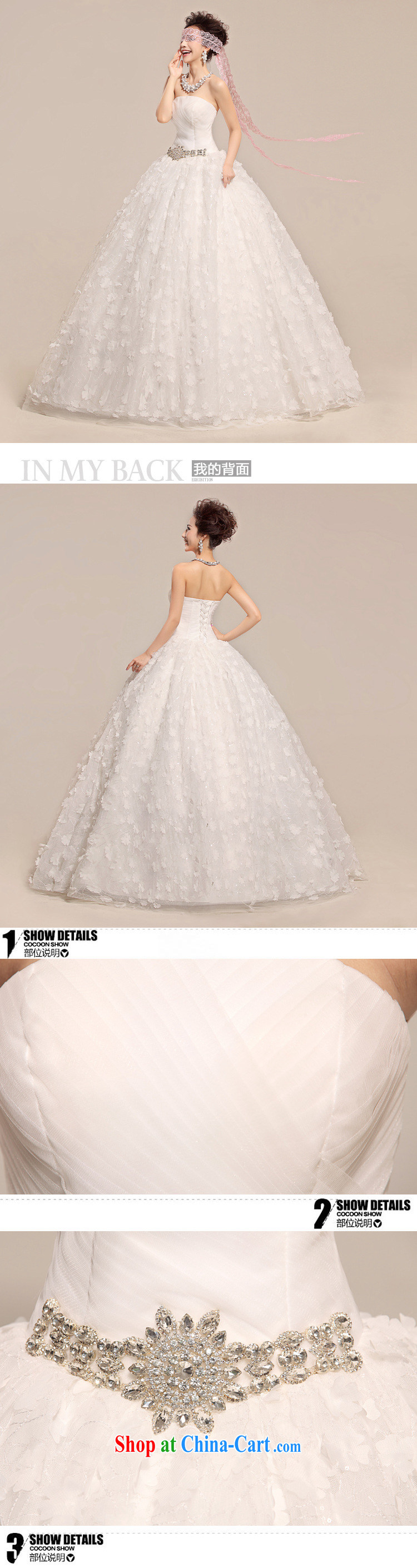 Optimize video new, simple and classy sweet sexy lace bare chest-waist graphics thin wedding dresses XS 7152 white S pictures, price, brand platters! Elections are good character, the national distribution, so why buy now enjoy more preferential! Health