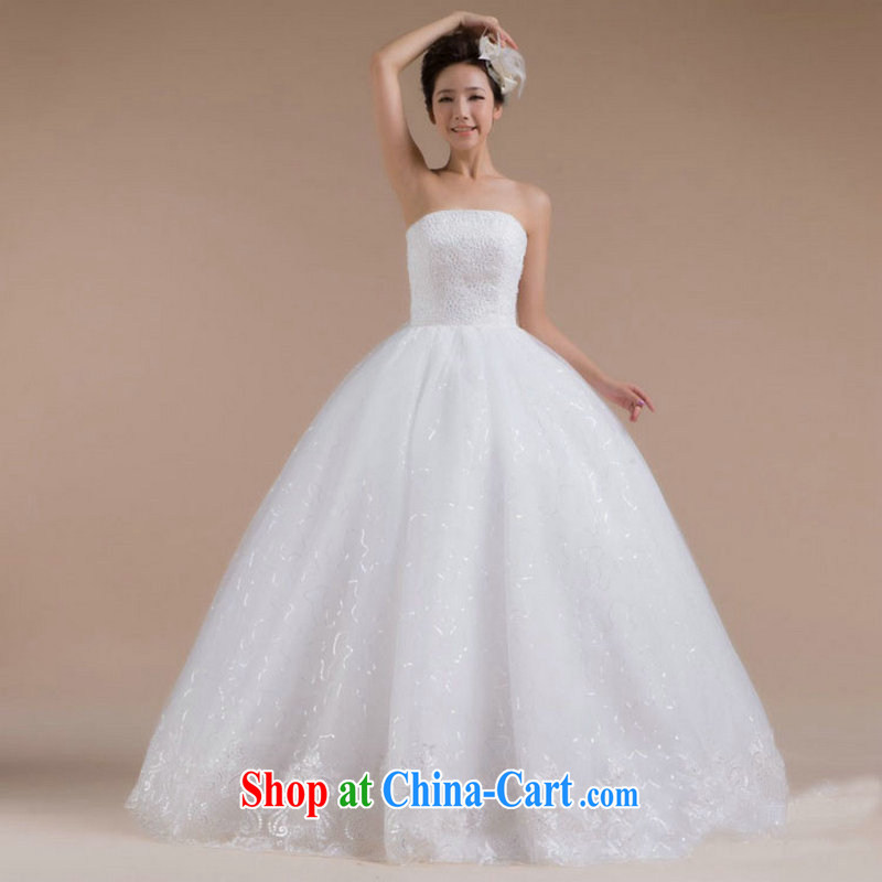 Optimize video 2015 new sexy bare chest luxury video thin bridal wedding with tail wedding XS 7084 white S