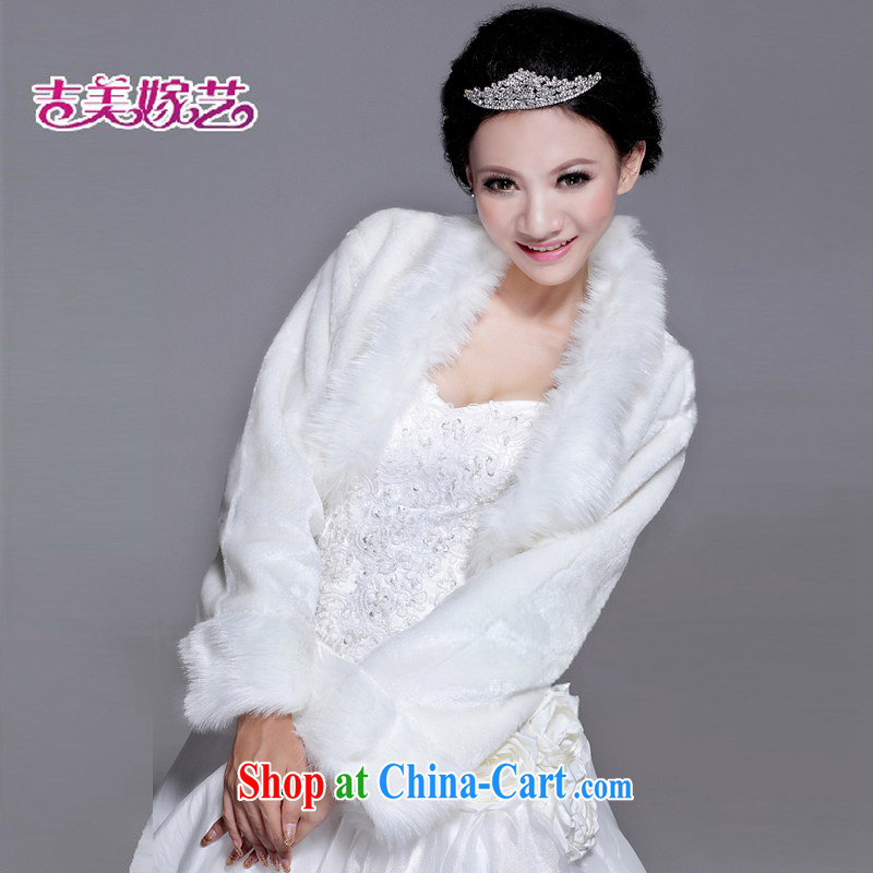 Hair shawl bridal 2015 new wedding dresses accessories kit winter Korean PJ 008 married women shawl white