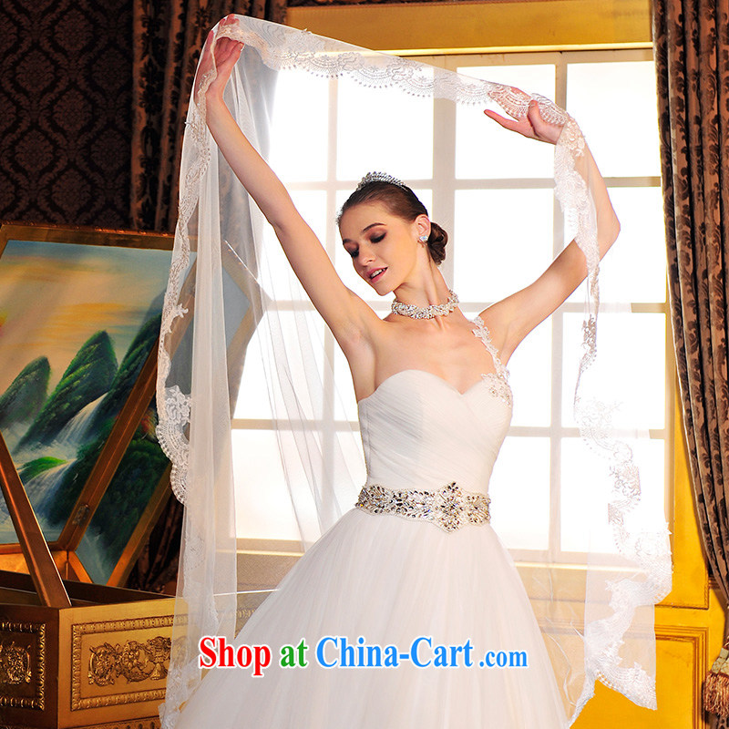 full court-fang S 12,691 strap with Korean version wiped chest theme wedding dresses 2015 new vera wang the tail-tail 50 CM 173 - M, garden, shopping on the Internet