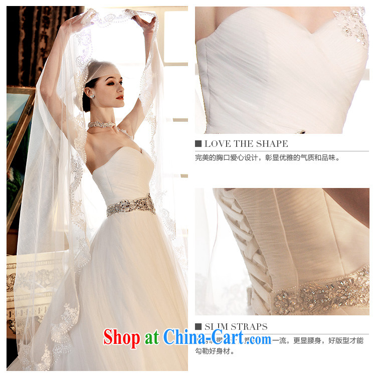 Garden S 12,691 straps Korean version Mary Magdalene theme chest wedding dresses 2015 new vera wang the tail-tail 50 CM 173 - M pictures, price, brand platters! Elections are good character, the national distribution, so why buy now enjoy more preferential! Health