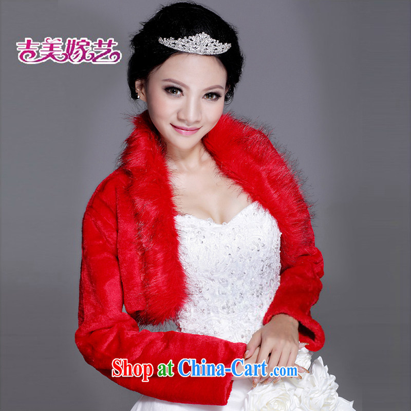 Hair shawl bridal 2015 new wedding dresses accessories kit winter Korean PJ 006 married women shawl red