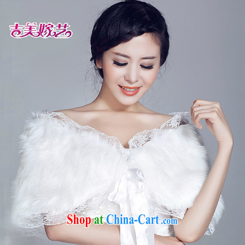 Hair shawl bridal 2015 new wedding dresses accessories kit winter Korean PJ B 009 married women shawl white
