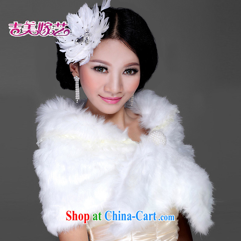 Hair shawl bridal 2015 new wedding dresses accessories kit winter Korean PJ 007 married women shawl white
