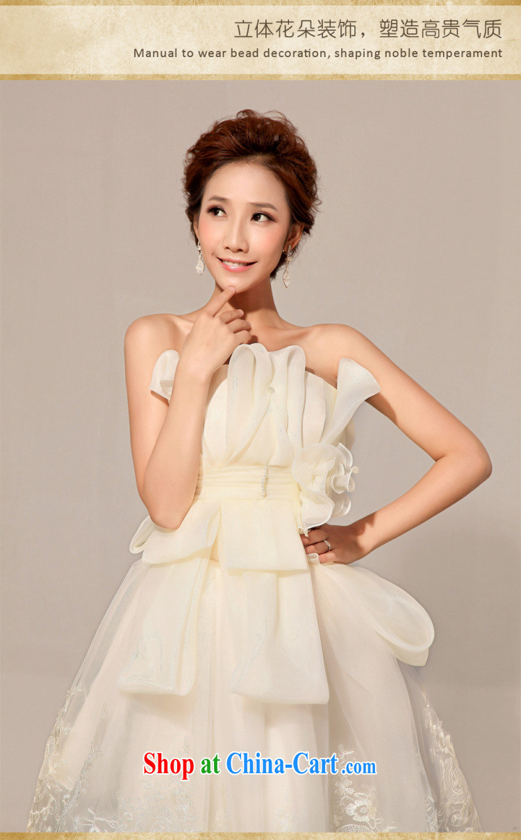 Optimize Hung-new Korean-style short erase chest bridesmaid dress uniform toast XS 8040 champagne color XXL pictures, price, brand platters! Elections are good character, the national distribution, so why buy now enjoy more preferential! Health