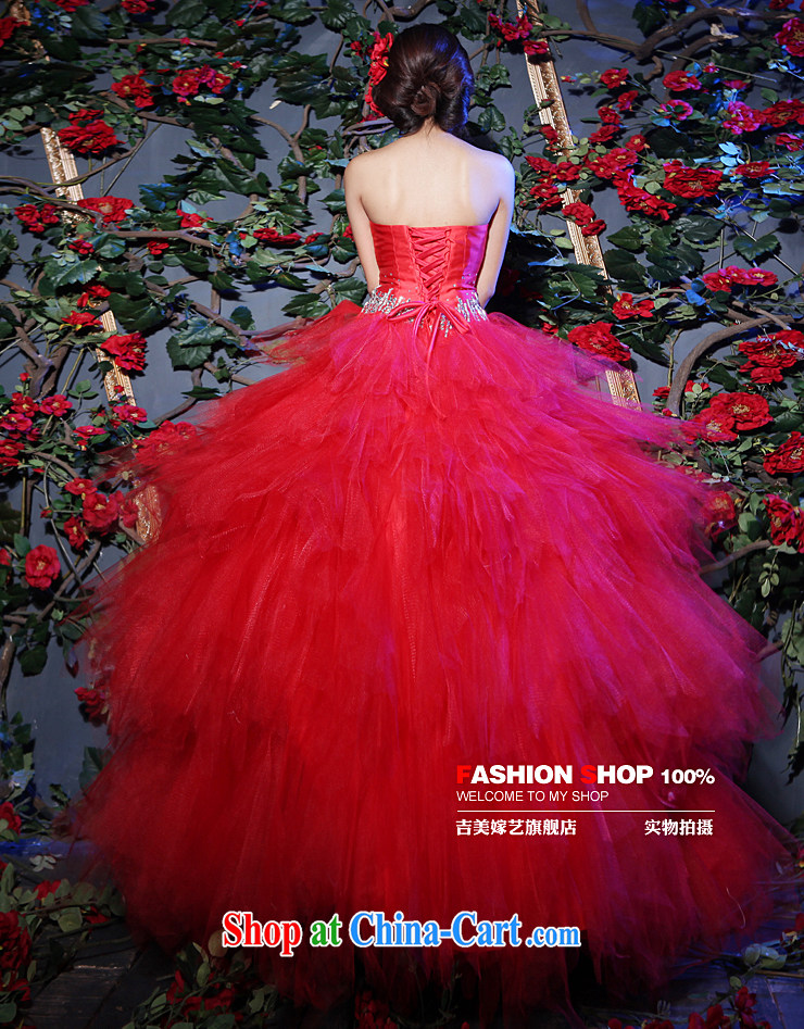 Vladimir Putin, and the wedding dresses, marry us performing arts 2015 new erase chest Korean Princess shaggy dress with 603 H bridal wedding standard XXXL pictures, price, brand platters! Elections are good character, the national distribution, so why buy now enjoy more preferential! Health