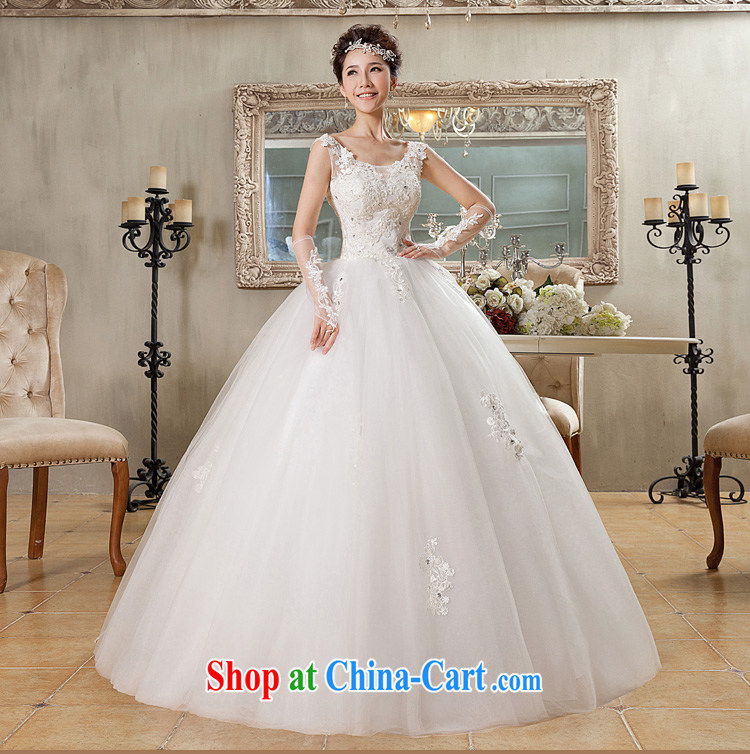 Jessica covers new 2014 version won a field package shoulder wedding lace Princess with strap wedding 2065 m White XL pictures, price, brand platters! Elections are good character, the national distribution, so why buy now enjoy more preferential! Health