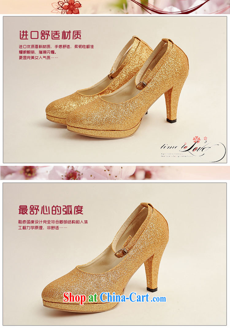 Baby bridal wedding shoes wedding shoes bridal shoes dress shoes bridal shoes Ballroom shoes high heel gold performance shoe stage shoes gold XZ 10,020 gold 38 pictures, price, brand platters! Elections are good character, the national distribution, so why buy now enjoy more preferential! Health