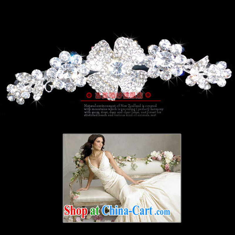 Bridal wedding dresses Accessories Kit Korean-style Crown HG 3010 water drilling jewelry 2015 new marriage Crown white