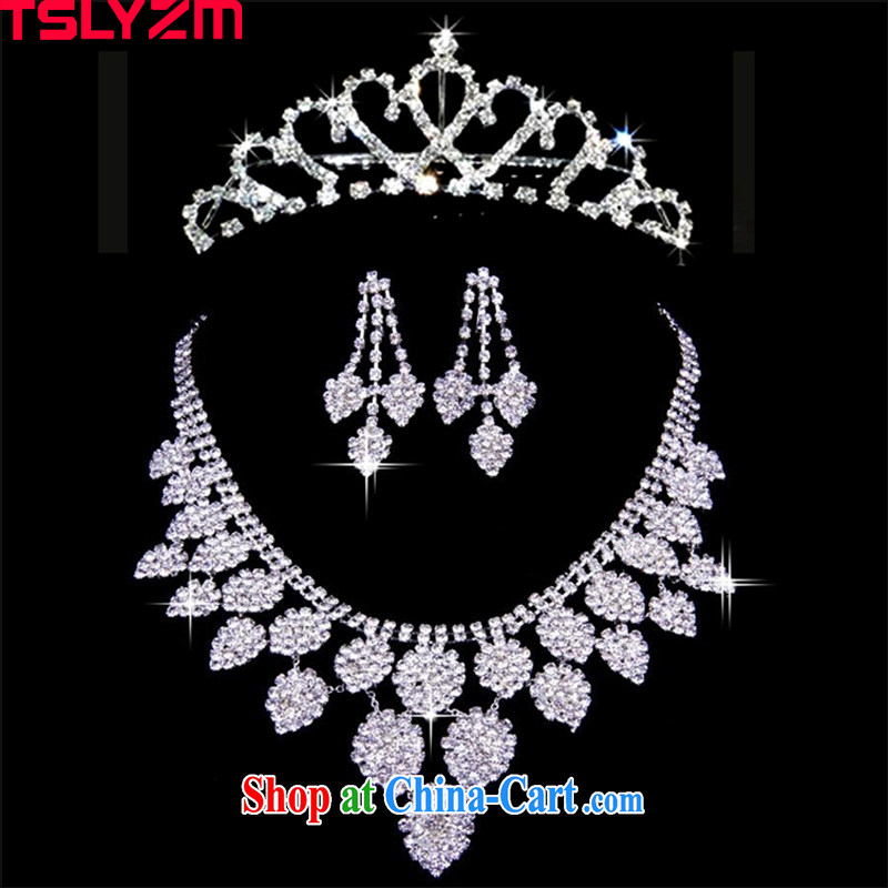 The angels, in accordance with bridal jewelry wedding accessories kit link Crown marriage and 3 piece wedding Korean jewelry set necklace jewelry set link 5