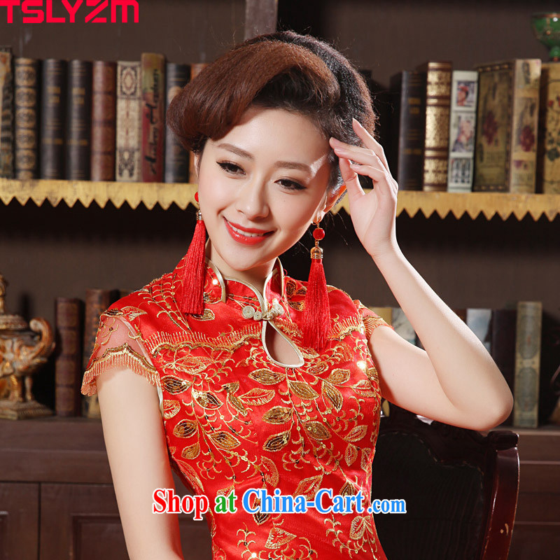 The angels, in accordance with new bridal jewelry wedding accessories China wind featured bridal toast ear circulation, classical red-su-ear if they pierced their ears.