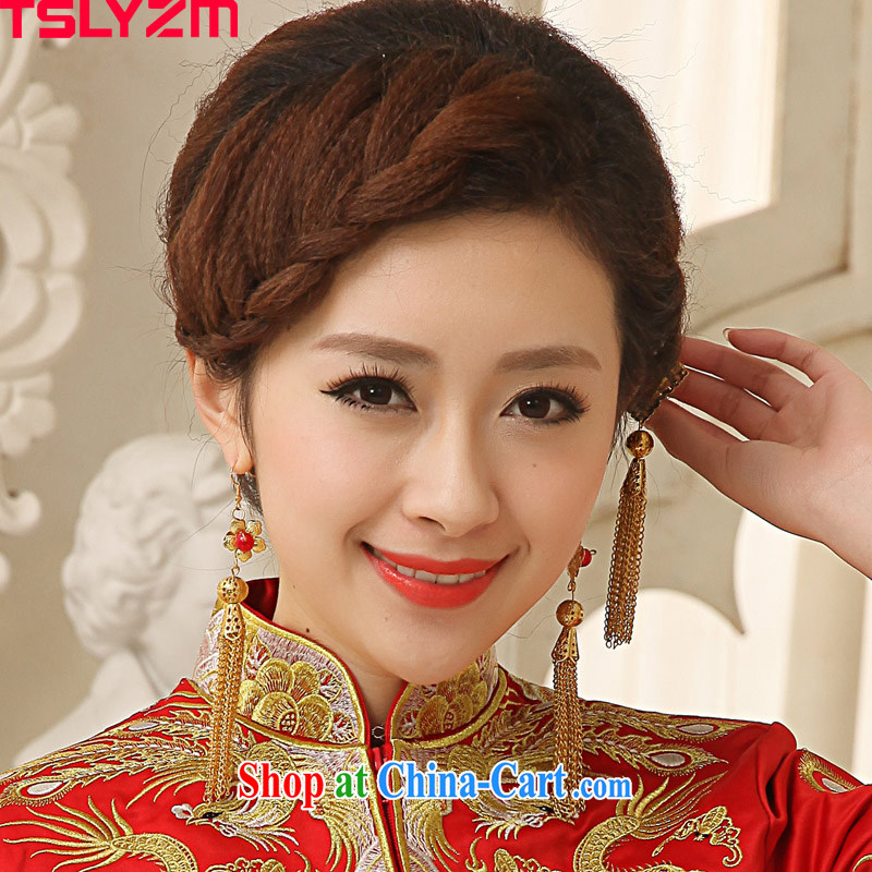 2015 Tslyzm new bridal jewelry antique antique ornate Kanzashi Butterfly Style Kanzashi the ancient step, flow, roving entertainment and ornaments, clothing, jewelry, Tslyzm, shopping on the Internet