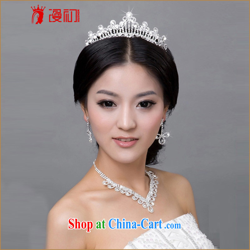 Early definition 2015 new bride Princess Crown water drilling trends marriage mandatory supplies bridal accessories