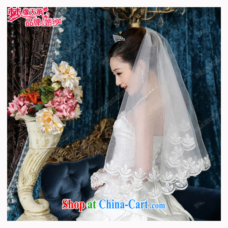 Dream of the day wedding dresses accessories princess and legal Korean-style Korean sweet 2015 injection Kim head-dress ultra-sin TS 50 white