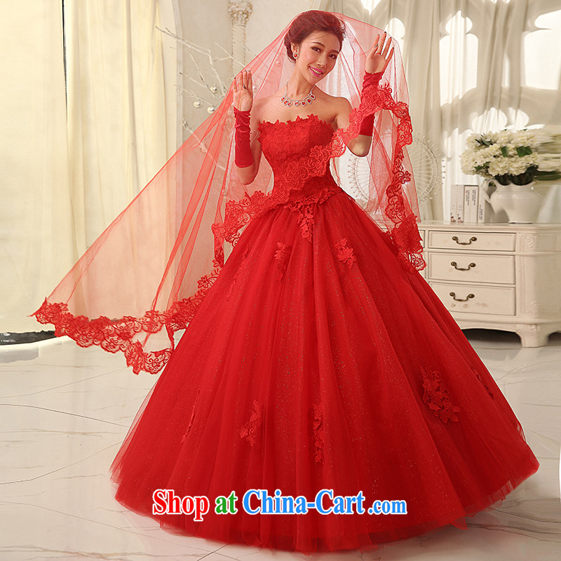 Dream of the day wedding dresses accessories sexy red lace 3m only the US and Uganda TS 66 red, Dream of the day, shopping on the Internet