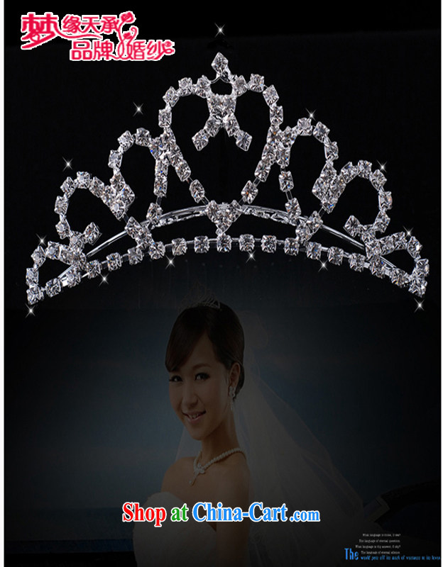 Let the day the noble flash Crown bridal Crown bridal headdress bridal jewelry HG 020-XF