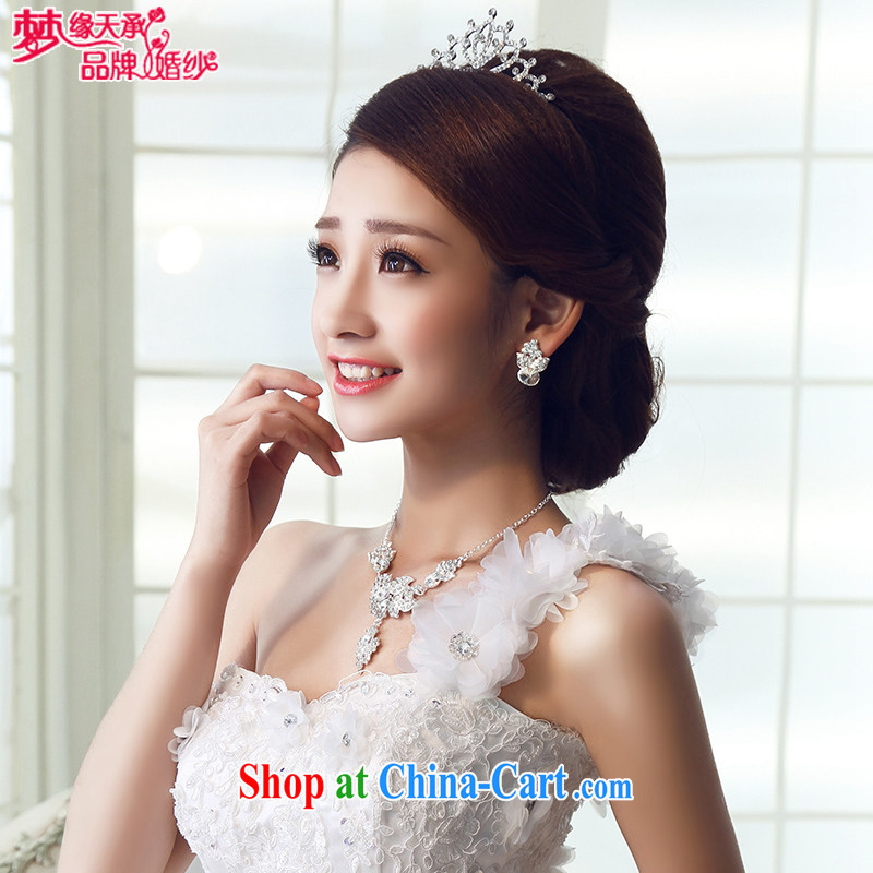 Dream of the day dream marriages Royal extreme version of Crown bridal jewelry HG 021