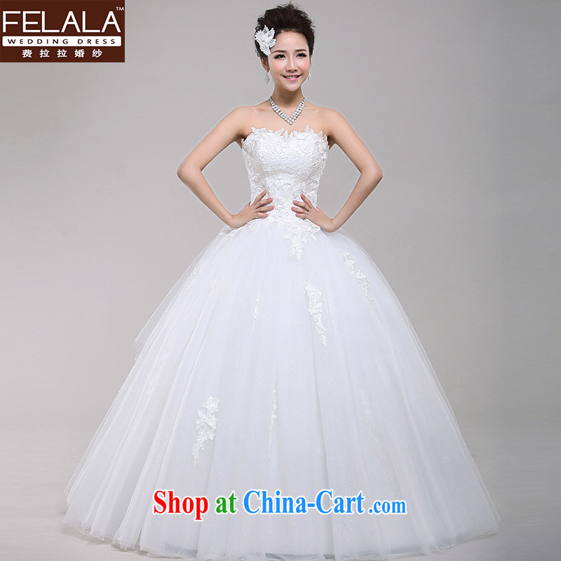 Ferrara 2013 New Red very wang wedding simple lace bare chest shaggy winter skirt the code XL Suzhou shipping
