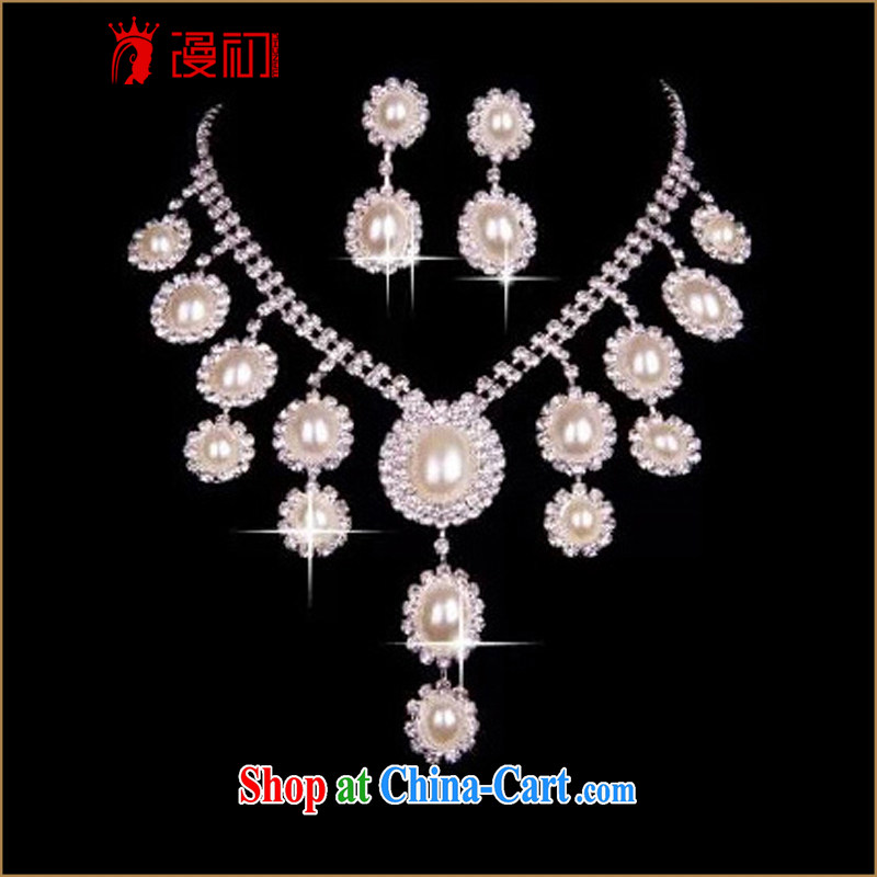 Early spread new 2015 bridal pearl necklaces bridal wedding jewelry wedding dresses accessories
