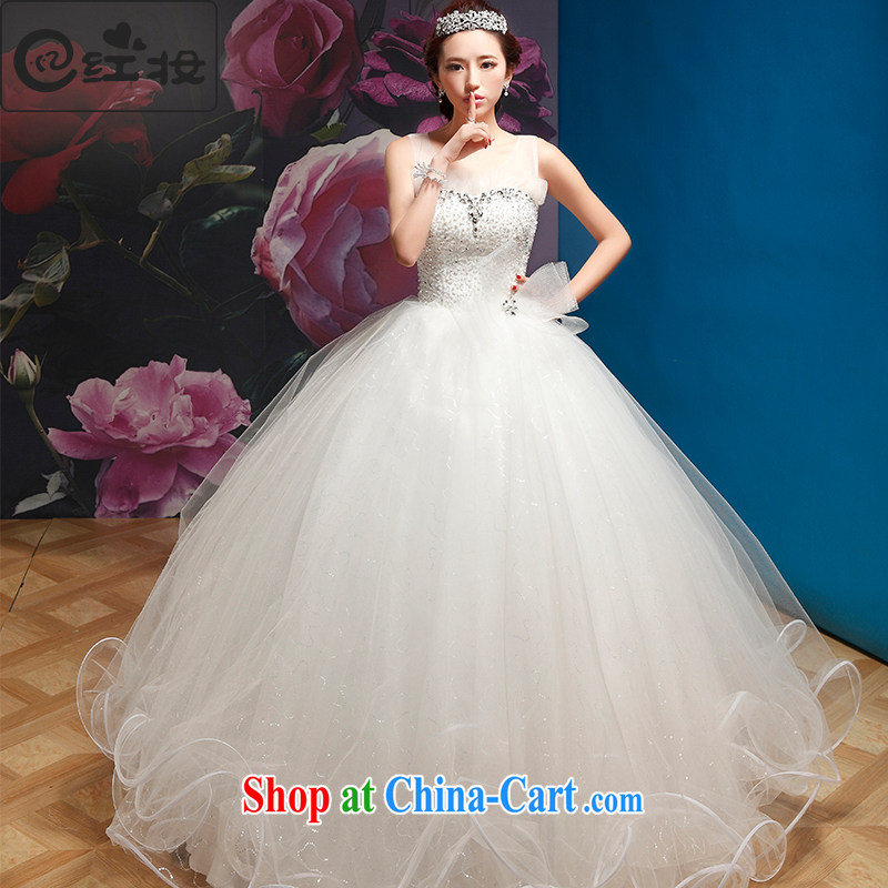 Recall that the red makeup summer yarn, a dual-shoulder Korean lace marriages with graphics thin sweet Princess style 2015 new dress spring H 14,700 white strap S