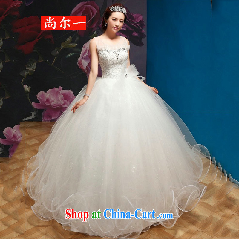 Still, 12,014 new wedding field shoulders with Princess shaggy wedding QQC 1003 white XXL