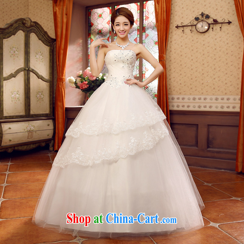 Moon 珪 guijin new bride wedding dress only the US with shaggy wedding HS 109 m White XXL code from Suzhou shipping