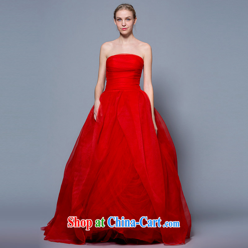 A yarn wedding dresses 2015 Korean-style vera wang wedding canopy skirts pregnant graphics thin wedding spring and summer the Code Red XXL code 30 days pre-sale