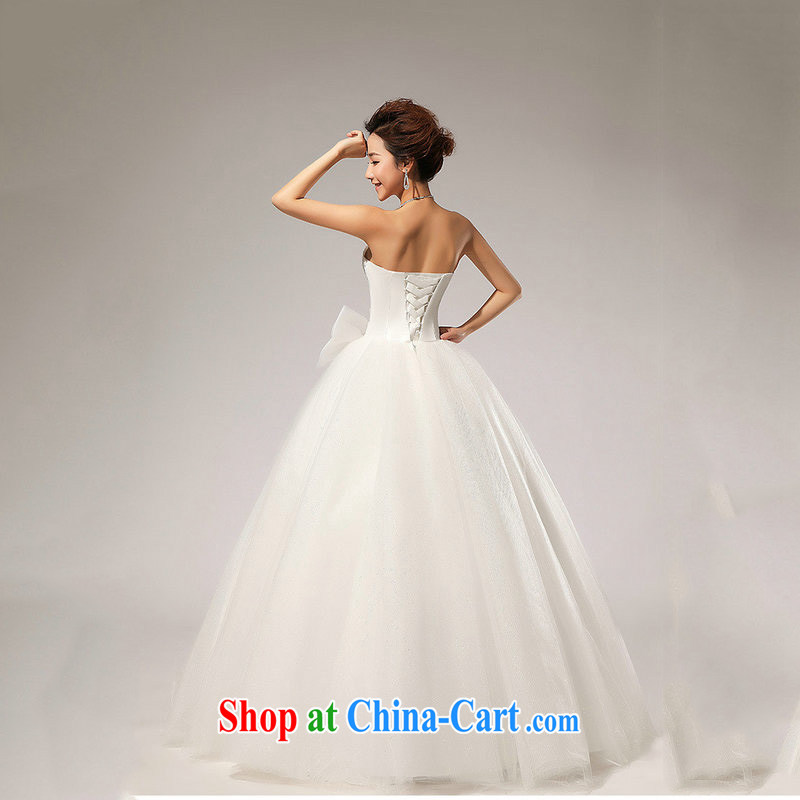 There is a new wedding erase chest Korean wedding dresses XS 5219 m White XXL