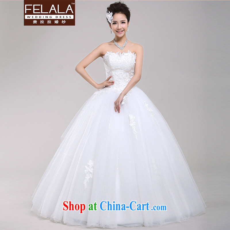 Ferrara 2015 new erase chest bridal wedding Korean Princess lace shaggy skirts and leisurely wedding spring, Suzhou XL shipping