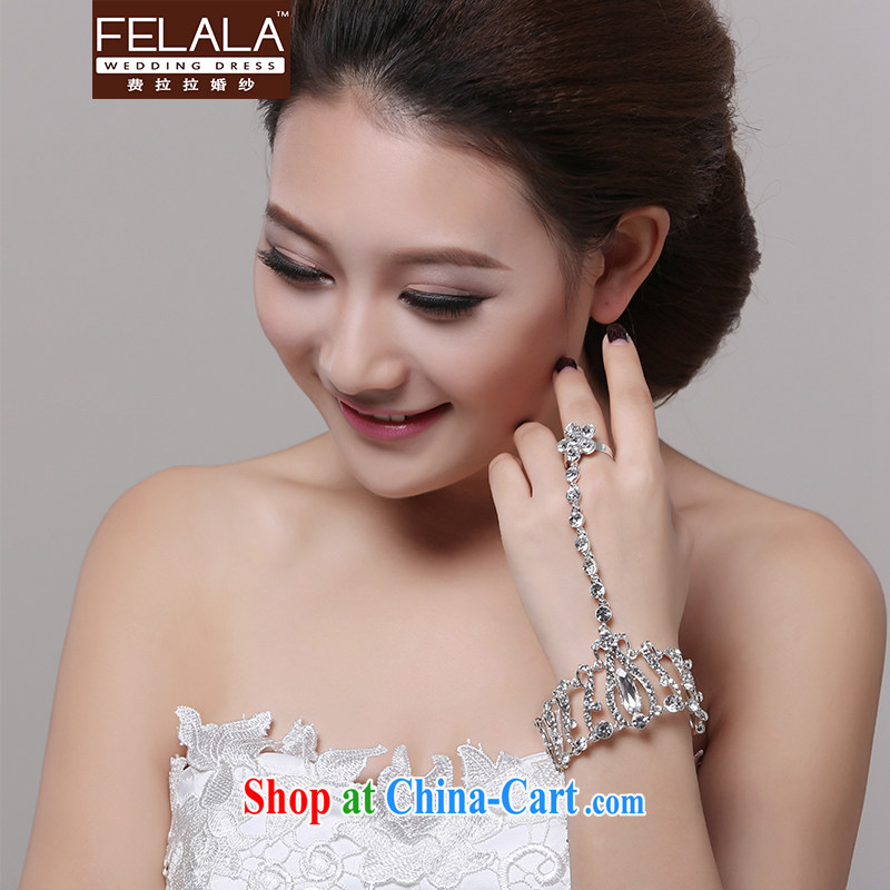Ferrara water drilling married the ring show bracelet ring a wedding jewelry accessories bracelet hand chain