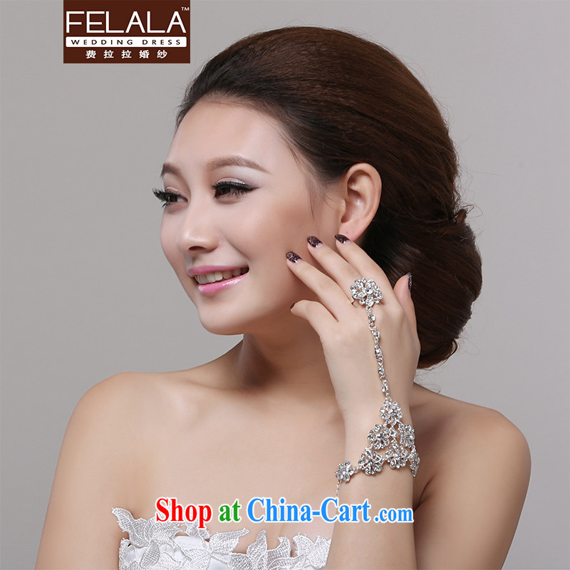 Ferrara 2013 new luxury flash flowers drill with a bridal wrist strap with decorative ornaments wedding dresses accessories