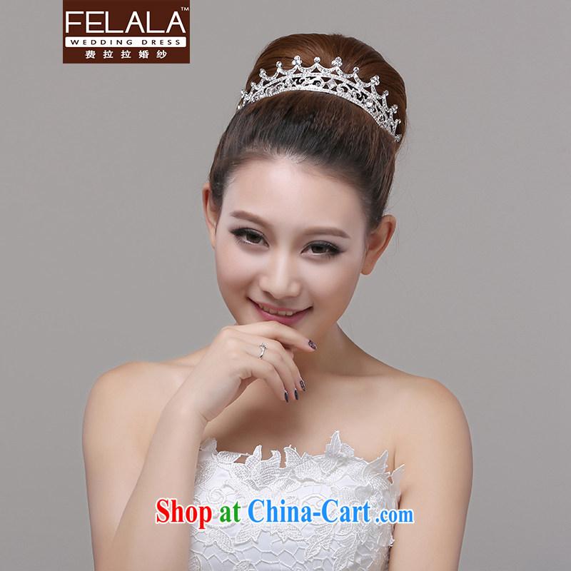 Ferrara 2015 new sparkling water diamond necklace Korean crown wedding jewelry, wedding accessories