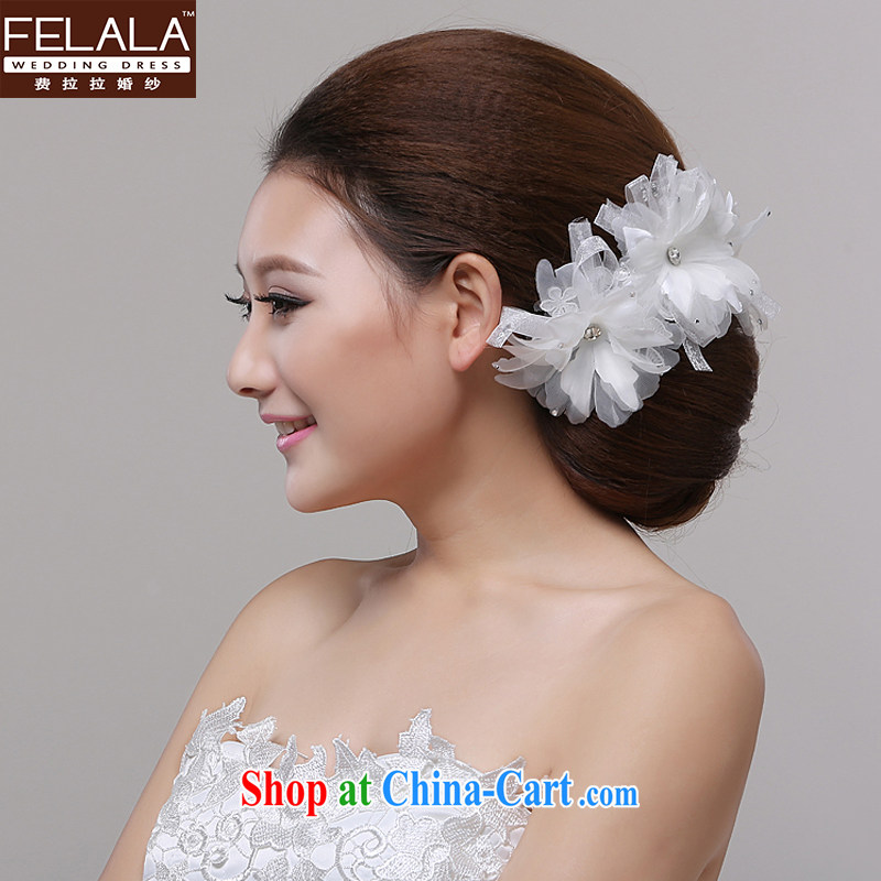 Ferrara 2015 original innovation and Madame flower jewelry hand lace Pearl silk flowers wedding styling hair accessories and ornaments accessories