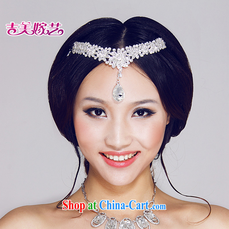Bridal wedding dresses Accessories Kit Korean-style Crown HG 6072 water drilling jewelry 2015 new marriage Crown