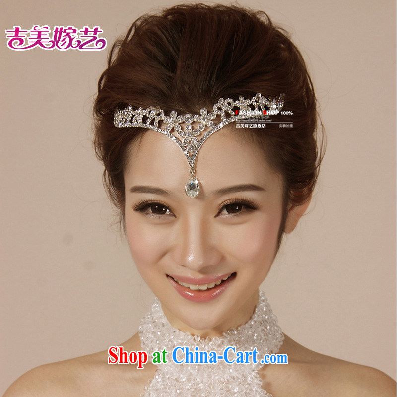 Bridal wedding dresses Accessories Kit Korean-style Crown HG 6075 water drilling jewelry 2015 new marriage Crown