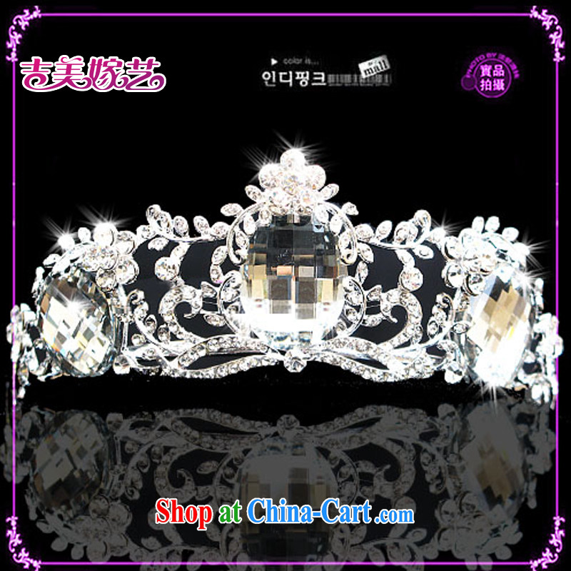 Bridal wedding dresses Accessories Kit Korean-style Crown HG 1214 water drilling jewelry 2015 new marriage Crown