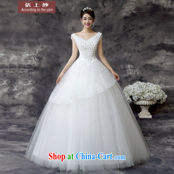 In accordance with the preceding yarn wedding dresses new 2015 luxury one shoulder lace-tail sweet Princess strap wedding white tail. size is not final pictures, price, brand platters! Elections are good character, the national distribution, so why buy now enjoy more preferential! Health