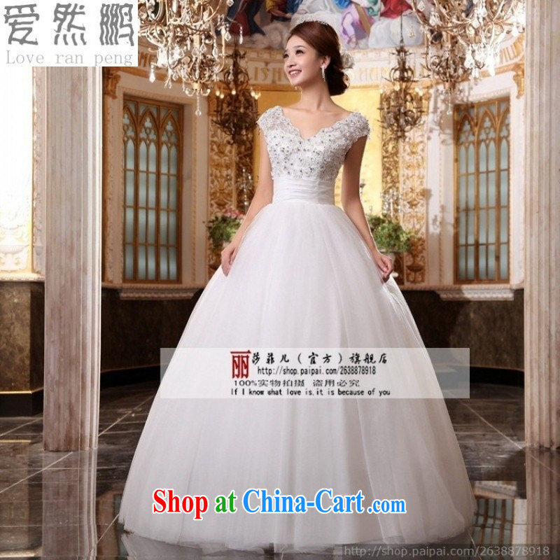 Love, Norman field shoulder V for brides new wedding dresses 2015 sexy retro Princess with wedding white customer size will not be returned.