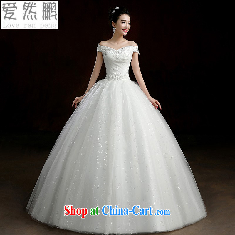 wedding dresses new 2015 modern Korean field shoulder bag shoulder bridal with straps spring wedding video thin white M pieced
