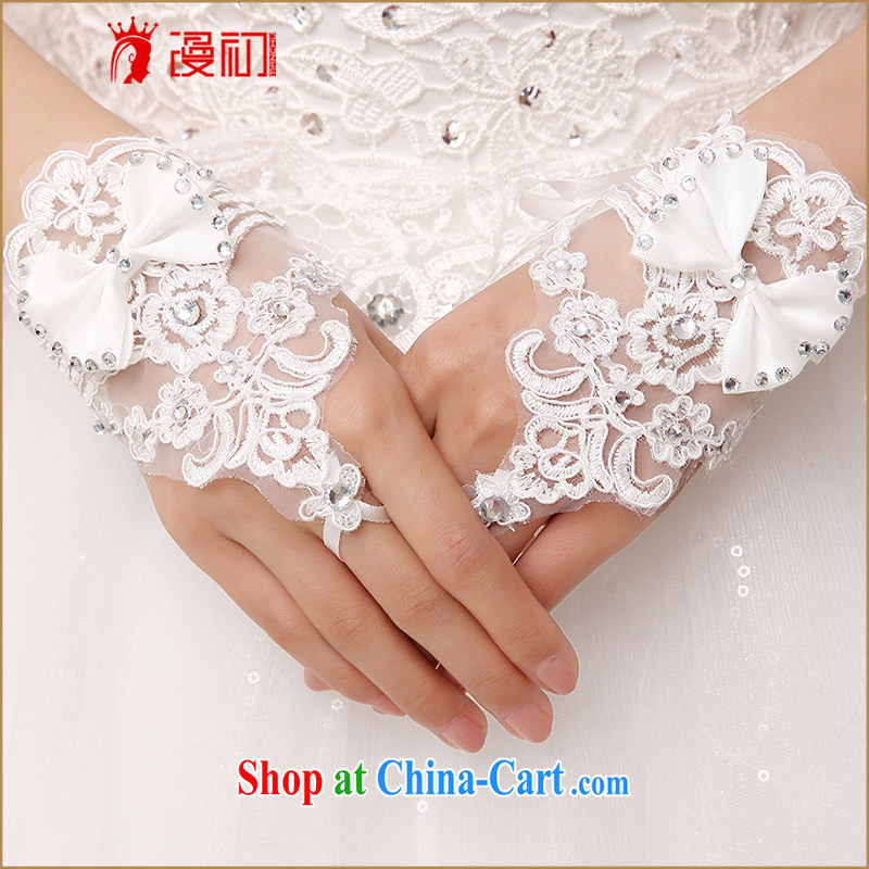 Early definition 2015 new hot bridal short gloves/wedding mittens/Summer wedding gloves white