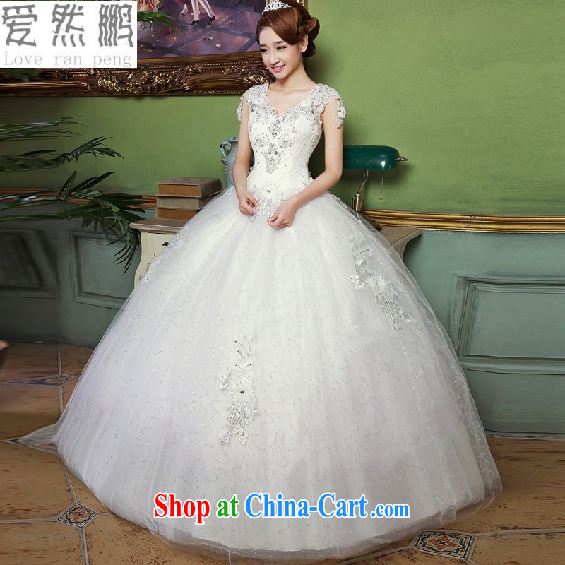 Love, Norman spring 2015 women with white bridal New with antique Korean light V for wedding dresses stylish lace white XXL need to be done is not returned.