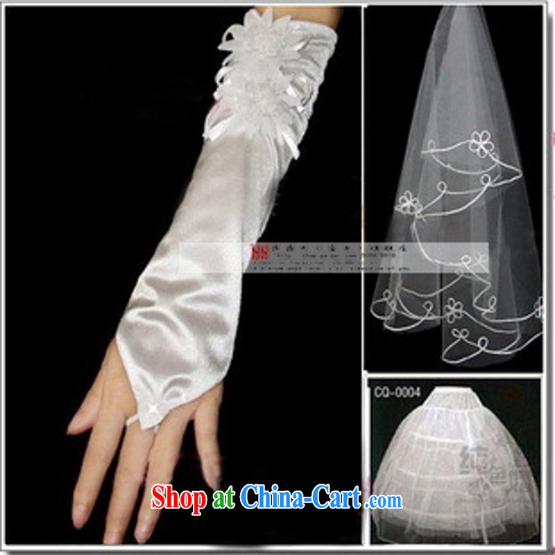 wedding accessories 3-piece A paragraph 998 the poles and yarn gloves wedding mandatory