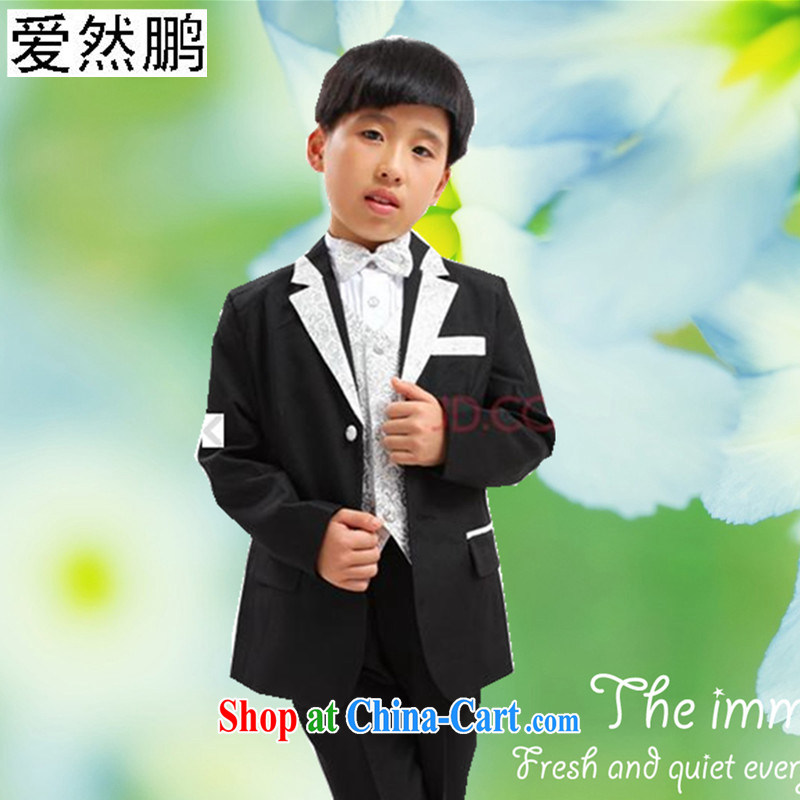 Children's flower dress boy children suit boy Dress Suit set black Phnom Penh 150